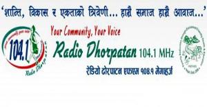 Radio-Dhorpatan-104.1-MHz-Logo